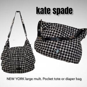 kate spade NEW YORK spade nylon Mult Tote handbag